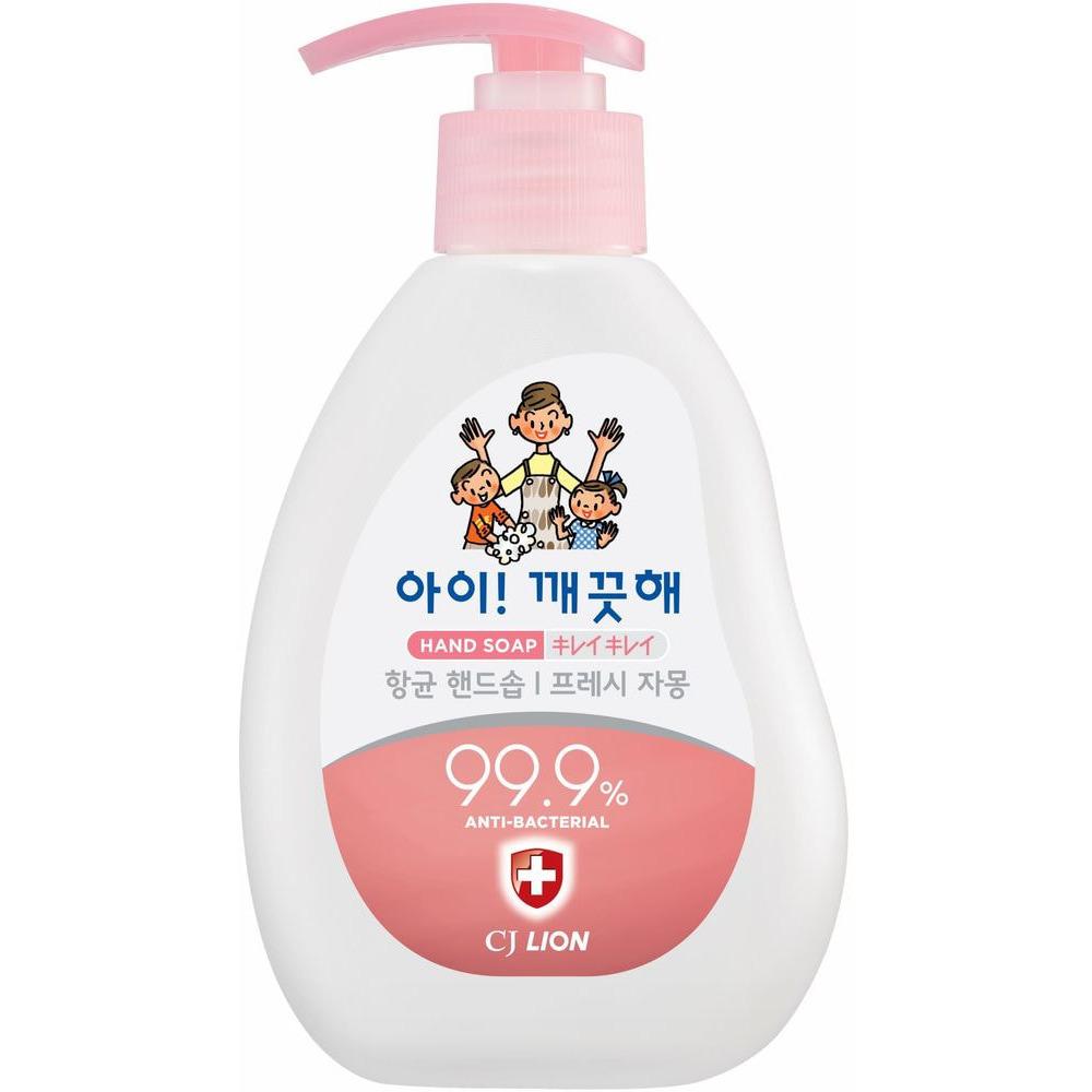 CJ LION «Ai - Kekute» Жидкое мыло для рук «Свежий грейпфрут», с антибактериальным эффектом, 250 мл.
