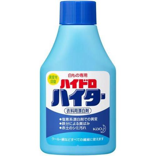 KAO «Haiter» Высокоэффективный порошковый отбеливатель на основе хлора, для белых вещей, 150 г.