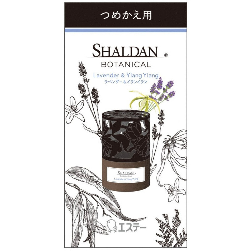 ST «Shaldan» Освежитель воздуха для комнаты «Лаванда и иланг-иланг» (сменная упаковка - наполнитель + фильтр), 25 мл.