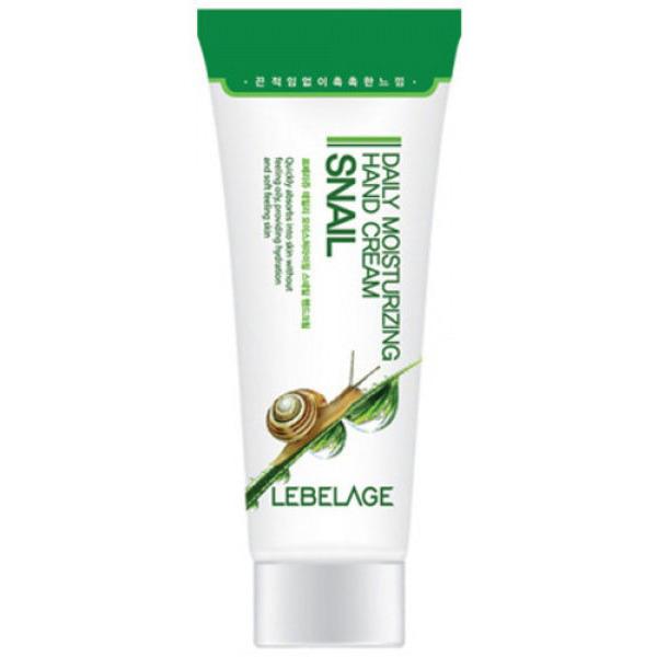 LEBELAGE Daily Moisturizing Snail Hand Cream Увлажняющий крем для рук с муцином улитки, 100 мл.