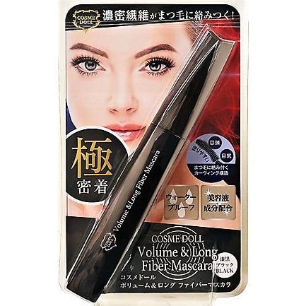 LS Cosmetic «Cosme Doll» Удлиняющая и придающая объём тушь для ресниц, чёрная, 8 мл.