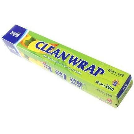 Cleanwrap Плотная пищевая пленка (с отрывным краем-зубцами), 30 см х 20 м.