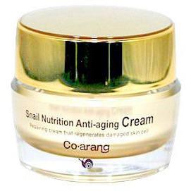 CO ARANG Snail Nutrition Anti-aging eye cream Антивозрастной крем для кожи вокруг глаз с экстрактом слизи улитки, 30 гр.