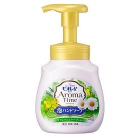 KAO «Biore U - Aroma Time Foaming Hand Soap Refresh herbs» Мыло-пенка для рук с ароматом свежих трав, 230 мл.