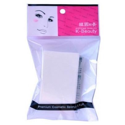 """K-Beauty Спонж косметический """"Прямоугольник"""", 5*7,5 см, 8 сегментов, в индивидуальной упаковке."""