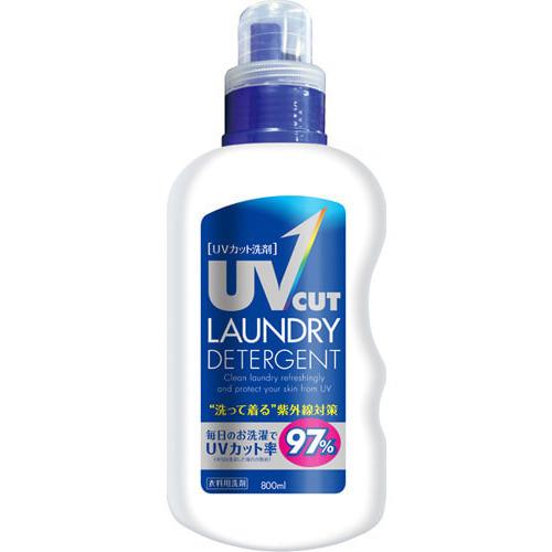 NISSAN «UV cut detergent» Гель для стирки с защитой от ультрафиолетовых лучей, с ярким цветочным ароматом, 800 мл.