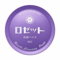 ROSETTE Увлажняющее средство для умывания, выравнивающее тон кожи, с серой, алмазно-жемчужной пудрой и восемью косметическими компонентами, с ароматом белой розы, 90 г.