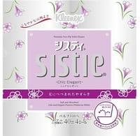 Crecia «Sistie Chic Elegant» Туалетная бумага, двухслойная, 4 рулона по 40 м.