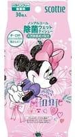 Crecia «Scottie Disney Princess» Детские влажные салфетки с дезинфицирующим эффектом, для девочек, 30 шт.