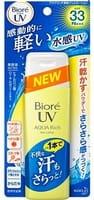 KAO «Biore UV Aqua Rich» Солнцезащитный освежающий гель-лосьон для тела с SPF 33, 90 мл.