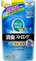 KAO «Resesh EX Plus» Суперэффективный дезодорант-нейтрализатор неприятных запахов для одежды и постельных принадлежностей, аромат разнотравья, запасной блок, 320 мл.