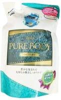 Mitsuei Увлажняющее крем-мыло для тела с гиалуроновой кислотой, коллагеном и экстрактом алоэ, с ароматом трав, мягкая упаковка, 400 мл.