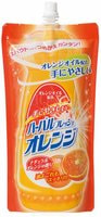 Mitsuei Средство для мытья посуды, овощей и фруктов, аромат апельсина, мягкая упаковка, 500 мл.