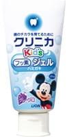 LION «Clinica Kid's gel» Детская зубная паста укрепляющая, гелевая, со вкусом винограда, 60 г.