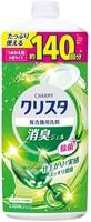 LION «Charmy Cristal Gel» Гель для посудомоечных машин (очищает нагар), мятно-цитрусовый аромат, запасной блок, 840 мл.