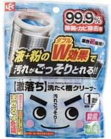LEC Средство для очистки барабанов стиральных машин, порошок 70 г + жидкость 70 г.
