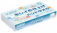 """Crecia """"Scottie"""" Полотенца бумажные для рук, двухслойные, 100 шт."""