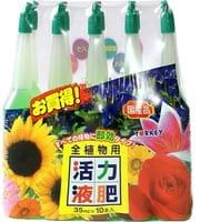 YORKEY Удобрения минеральные для растений (для активизации роста и цветения растений всех видов), 10х35 мл.