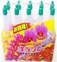 YORKEY Удобрения минеральные для растений (для активизации роста и цветения орхидеи), 10х35 мл.