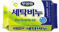 MUKUNGHWA «Laundry soap» Универсальное хозяйственное мыло для стирки и кипячения, 230 г.
