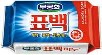 """Mukunghwa """"Laundry soap"""" Отбеливающее и пятновыводящее хозяйственное мыло для стирки цветного белья, 230 г."""