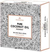 MUKUNGHWA Мыло туалетное твёрдое из 100% масла кокоса, с экстрактом розмарина и травяными эфирными маслами, 100 г.