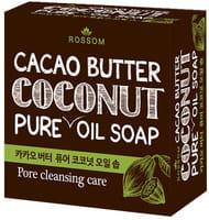 MUKUNGHWA Мыло туалетное твёрдое из 100% масла кокоса, с добавлением какао масла, 100 г.