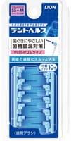 LION Сменные силиконовые головки на щётку для чистки межзубного пространства, 10 шт.