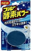 ST Очищающая и ароматизирующая таблетка для бачка унитаза, окрашивающая воду в голубой цвет, с лёгким ароматом, 60 г.