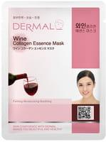 """Dermal Косметическая маска с коллагеном и экстрактом красного вина """"Красное вино"""", 23 г."""