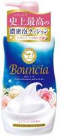 """COW """"Bouncia"""" Жидкое увлажняющее мыло для тела """"Взбитые сливки"""" с гиалуроновой кислотой и коллагеном, цветочно-фруктовый аромат, дозатор, 500 мл."""