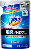 """KAO """"Attack"""" Высокоэффективный гель для стирки белья и устранения стойких запахов с ароматом свежих трав, бутылка, 810 гр."""