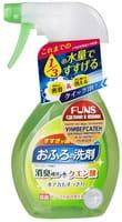 """Daiichi """"Funs"""" Спрей чистящий для ванной комнаты, с ароматом свежей зелени, 380 мл."""