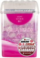 NAGARA «Aqua Beads» Арома-поглотитель запаха гелевый, с ароматом камелии, 360 г.