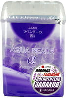 """Nagara """"Aqua Beads"""" Арома-поглотитель запаха гелевый, с ароматом лаванды, 360 г."""