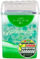 NAGARA «Aqua Beads» Арома-поглотитель запаха гелевый, с ароматом сикуваса, 360 г.