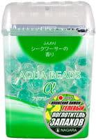 """Nagara """"Aqua Beads"""" Арома-поглотитель запаха гелевый, с ароматом сикуваса (японского лимона), 360 г."""