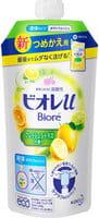 """KAO """"Biore U Smile Time"""" Мягкое пенное мыло для всей семьи, освежающий цитрусовый аромат, запасной блок, 340 мл."""