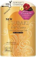 SHISEIDO «Tsubaki Oil Extra» Кондиционер для повреждённых волос, с маслом камелии и аргинином, запасной блок, 330 мл.