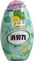 ST «Deodorant Force» Жидкий освежитель воздуха для комнаты против стойких неприятных запахов «Зелёные травы», 400 мл.