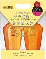 SHISEIDO «Tsubaki Oil Damage Care Extra Smooth» Набор: шампунь и кондиционер для повреждённых волос, 450 мл + 450 мл.