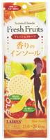Fudo Kagaku Женские дышащие стельки с ароматом фруктов, 21-26 см.