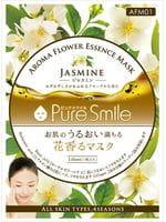 "Sun Smile ""Pure Smile Aroma Flower"" Смягчающая маска для лица, с маслом жасмина, 1 шт."
