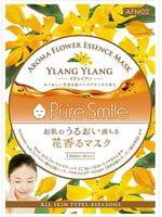 SUN SMILE «Pure Smile Aroma Flower» Антистрессовая маска для лица, с маслом иланг-иланга, 1 шт.