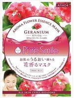 SUN SMILE «Pure Smile Aroma Flower» Восстанавливающая маска для лица, с маслом герани, 1 шт.