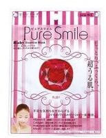 SUN SMILE «Pure Smile Luxury» Энергетическая маска для лица, с микрочастицами рубина, 1 шт.