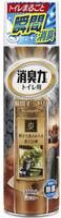 """ST """"Shoushuuriki"""" Спрей-освежитель воздуха для туалета, с антибактериальным эффектом, древесный уголь, сандаловое дерево, 330 мл."""