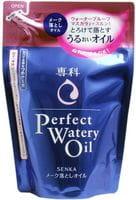 SHISEIDO «Senka Perfect Watery Oil» Гидрофильное масло для снятия макияжа, мягкая упаковка, 180 мл.