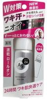 SHISEIDO «Ag Deo24» Роликовый дезодорант-антиперспирант с ионами серебра, без запаха, 40 мл.