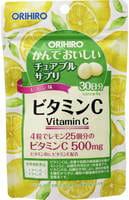 """Orihiro БАД Витамин С со вкусом лимона """"Орихиро"""", 120 таблеток."""
